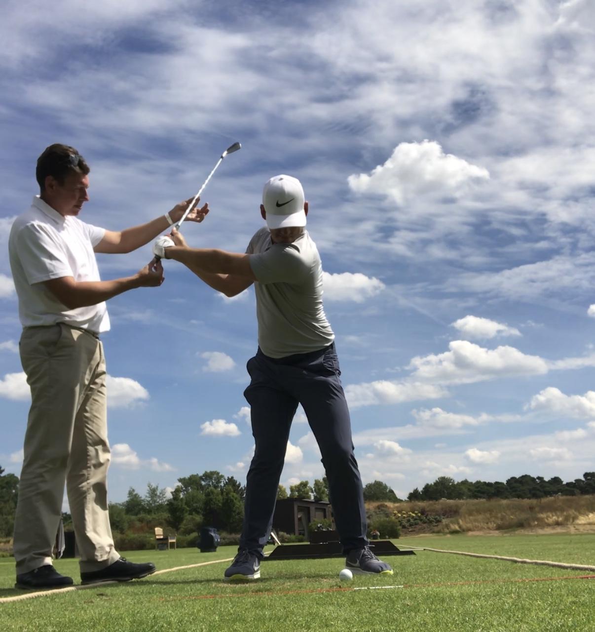 Real Golf Coaching Swing Clinic